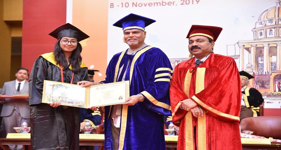 Ms Ria Pareek, Gold Medallist (2016-19 batch) from BA (Hons) English.