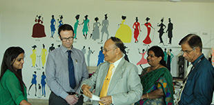Foreign Delegates Visited Best Architecture & Design College in Jaipur, MUJ