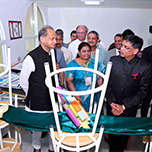Visit by Former Rajasthan CM to  Best Architecture College in Jaipur