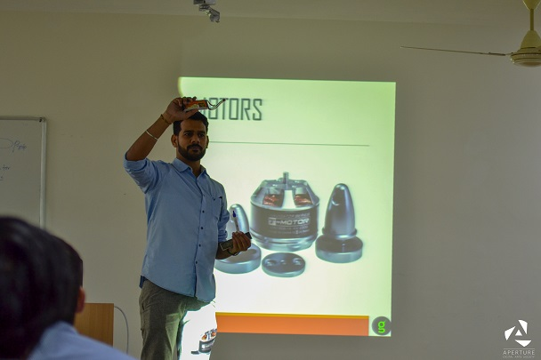 IMechE-MUJ organized a workshop on Quadcopters